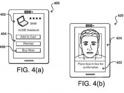 Der Kauf ist per Selfie zu bestätigen (Bild: Amazon / USPTO)