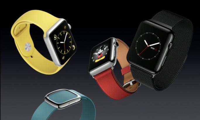 Für die Apple Watch gibt es neue Armbänder, darunter eine Variante aus gewebtem Nylon (Screenshot: ZDNet.com).