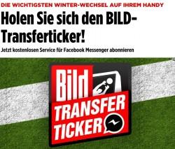Der Axel-Springer-Verlag ist Testpartner für Nachrichtendistribution via Facebook messenger (Screenshot: ZDNet.de).