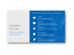 Cognitive Services (Bild: Microsoft)