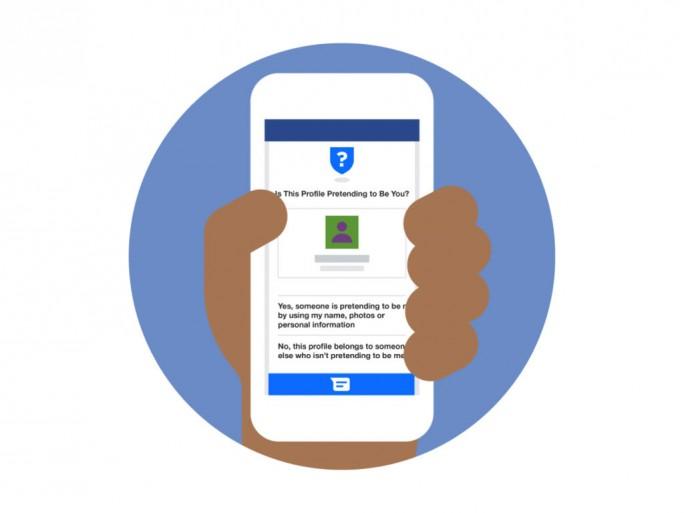 Facebook hat die Warnhinweise zu Nachahmerkonten bereits für drei Viertel seiner Mitglieder verfügbar gemacht (Bild: Facebook).