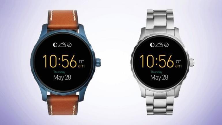 fossil stellt zwei neue android wear uhren vor. Black Bedroom Furniture Sets. Home Design Ideas