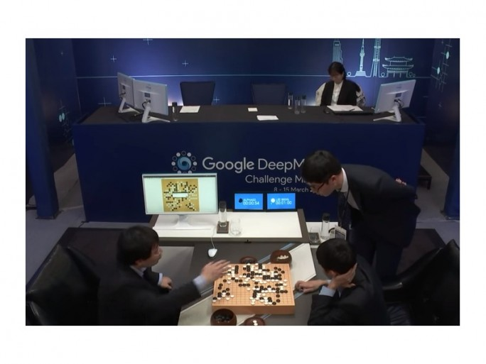 Google AlphaGo gegen Lee Se-dol, vierte partie (Screenshot: ZDNet.de bei Youtube)