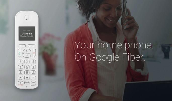 Mit Fiber Phone bietet Google in den USA jetzt auch Festnetztelefonie an (Bild: Google).