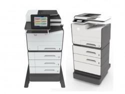 Bei Bedarf lässt sich die Papierzufuhr der PageWide-Geräte erweitern (Bild: HP Inc).