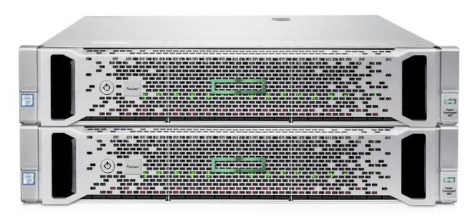 HPE Hyper Converged 380 ist als Zwei-Knoten-Gerät konzipiert (Bild: HPE).