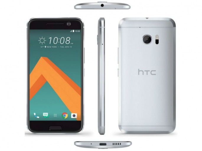 So soll das HTC 10 aussehen (Bild via @evleaks).