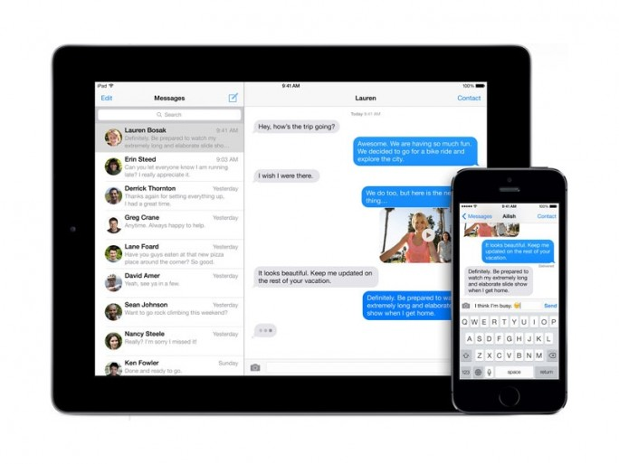 iMessage (Bild: Apple)
