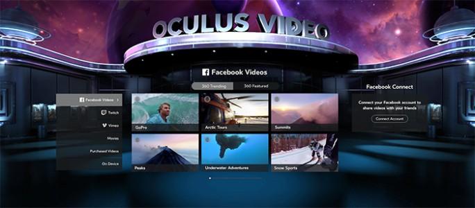 Ab nächster Woche werden Anwender ihr Facebook-Konto mit Oculus Video verbinden können (Bild: Oculus VR).