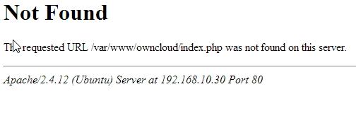 Nach der Aktualisierung oder Neuinstallation von ownCloud 9 gibt es Probleme beim Zugriff auf den Dienst (Screenshot: Thomas Joos).