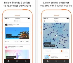 Soundcloud Go in iOS-App (Bild: Soundcloud)