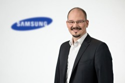 Marcel Binder, Technical Product Manager Marketing bei Samsung (Bild: Team Nölke)