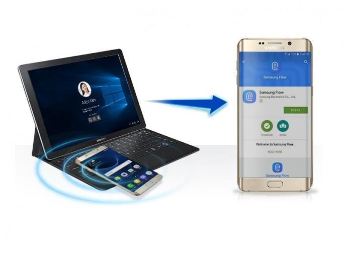 Samsung Galaxy TabPro S: Entsperren_per_Fingerabdruck (Bild: Samsung)