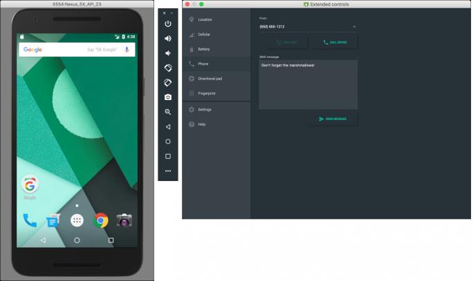 Der in Android Studio 2.0 integrierte Emulator (Bild: Google)