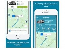 BMW ReachNow für iOS (Screenshot: ZDNet.de)