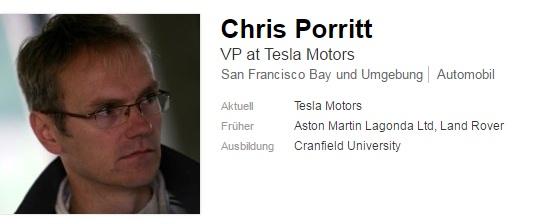 Profil von Chris Porritt bei LinkedIn (Screenshot: ZDNet.de)