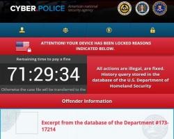 Cyber.Police Ransomware (Bild: Blue Coat)