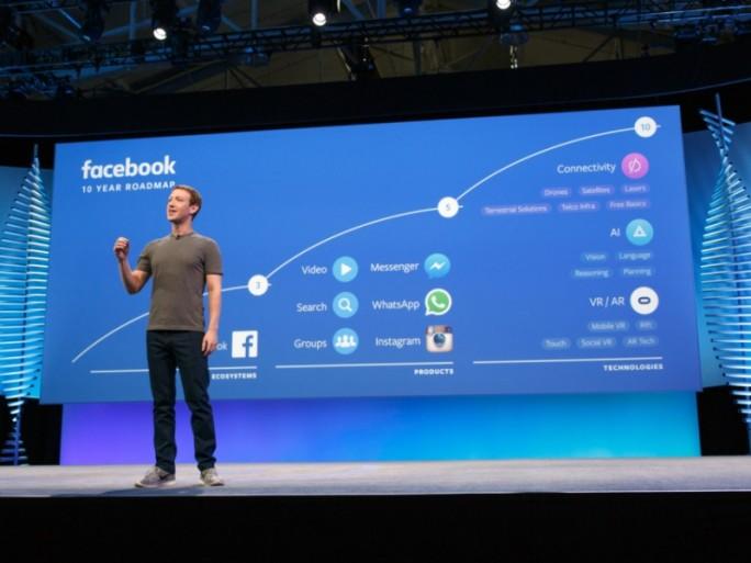 CEO Mark Zuckerberg hat auf der Entwicklerkonferenz F8 auch die Roadmap für die nächsten zehn Jahre vorgestellt (Bild: Facebook).