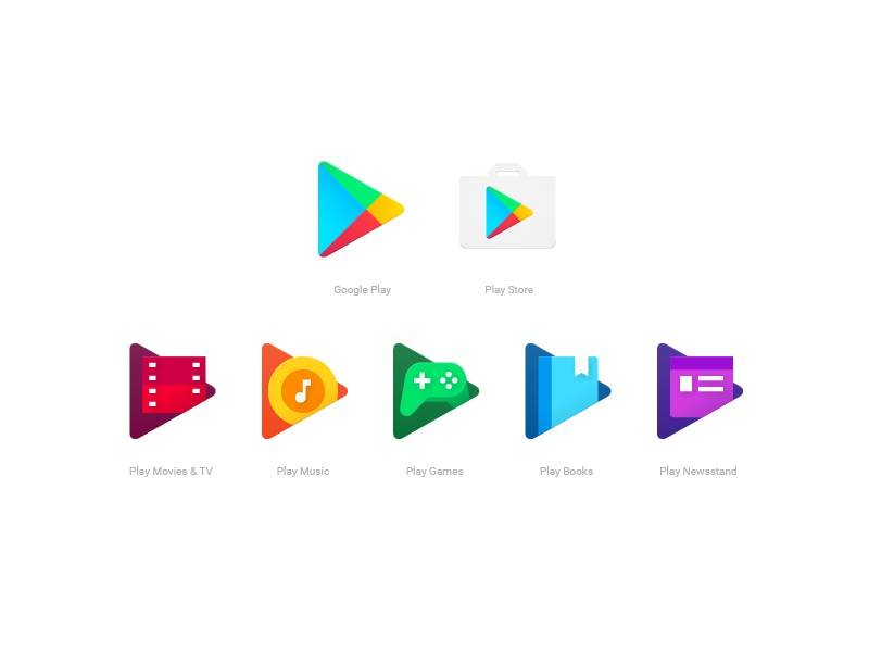 google play stellt neue app icons vor. Black Bedroom Furniture Sets. Home Design Ideas