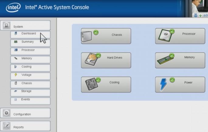 Die Intel Active System Console bietet ebenfalls umfassenden Überblick und Steuerungsmöglichkeiten für Intel Server an (Screenshot: Thomas Joos).