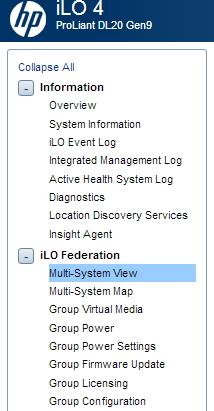 Mit HPE iLO Federation lassen sich zentral alle ProLiant-Server im Netzwerk überwachen und verwalten (Screenshot: Thomas Joos).