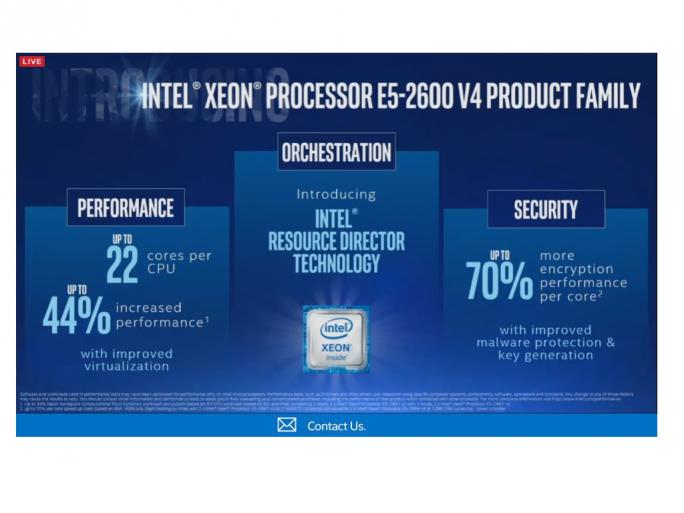 Intel Xeon E5 v4 (Bild: Intel)