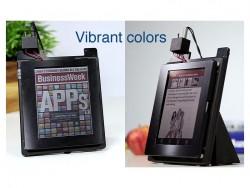Farb-E-Ink-Bildschirmtechnik der Amazon-Tochter Liquavista (Screenshot: ZDNet.de bei Youtube)