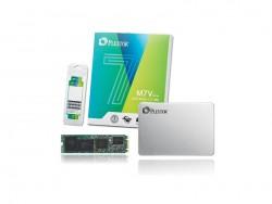 Die für Einsteiger konzipierte SSD-Reihe Plextor M7V ist nicht nur im 2,5-Zoll-Format, sondern auch als M.2-Steckmodul erhältlich (Bild: Plextor).