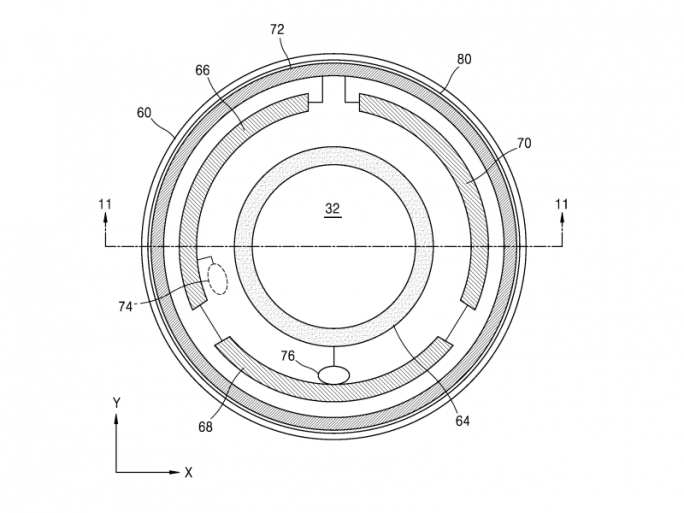 Samsung arbeitet an einer smarten Kontaktlinse (Screenshot: SamMobile).