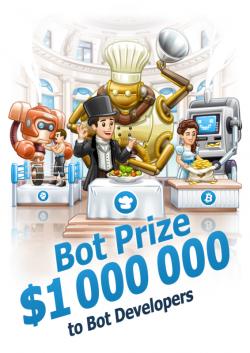 Telegram fördert die Bot-Entwicklung mit einer Million Dollar (Bild: Telegram).
