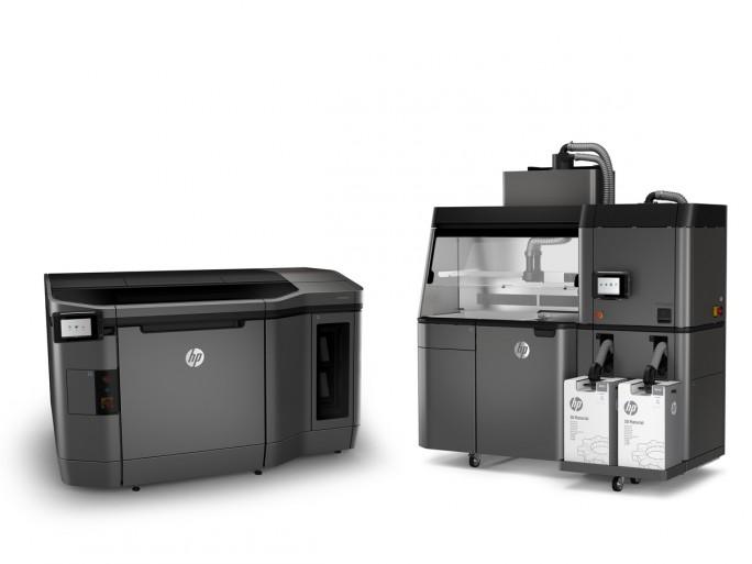 Die HP-Jet-Fusion-3D-Modelle 3200 und 4200 lassen sich ab sofort vorbestellen (Bild: HP).