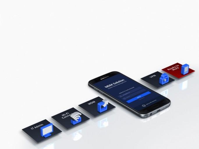 Samsung Galaxy S7: Samsung KNOX (Bild: Samsung)