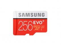 Samsung EVO Plus 256GB bietet Speicherkapazität von 256 GByte