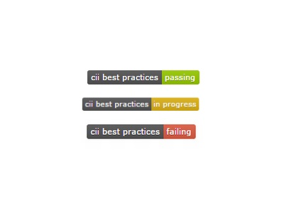 CII Best Practices (Screenshot: ZDNet.de)