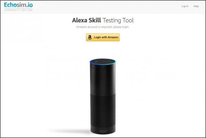 Amazon Echosim.io (Screenshot: Amazon)