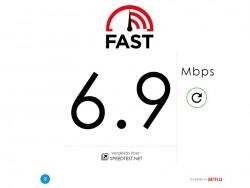 Fast.com von Netflix (Screenshot: ZDNet.de)