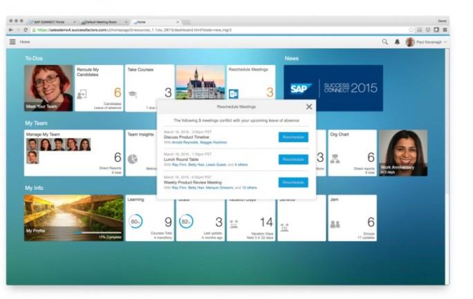 Integration von SuccessFactors und Office 365 (Bild: Microsoft)