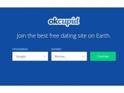 OkCupid präsentiert sich datenorientiert (Screenshot: ZDNet.de).