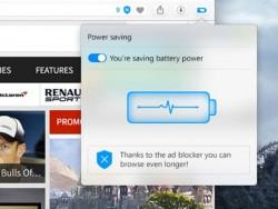 Die Entwicklerversion von Opera 39 führt einen Energiesparmodus ein (Bild: Opera Software).