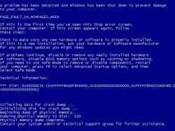 Ein erfolgreicher Angriff resultiert im BSoD (Screenshot: Tavis Ormandy, Google).