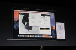 Software-Chef Craig Federighi stellte auf der WWDC Apple Pay fürs Web vor (Bild: ZDNet.com).