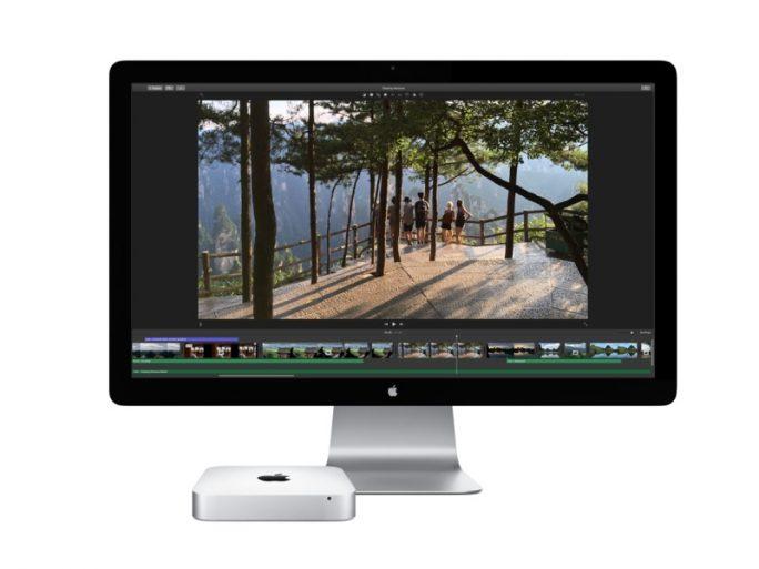 Thunderbolt Display und Mac Mini (Bild: Apple)