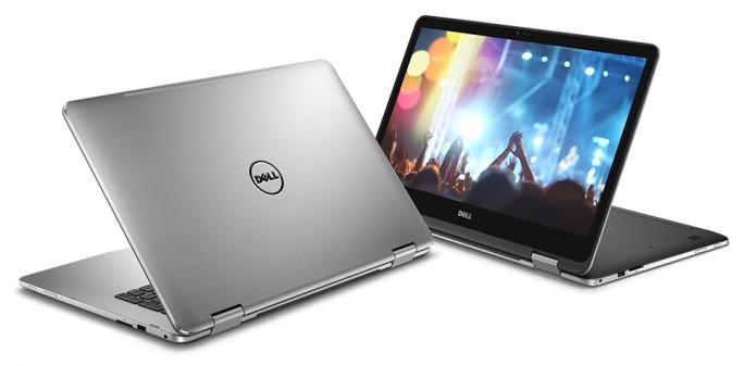 Das Inspiron 17 7000 ist Dell zufolge das erste Convertible-Notebook im 17-Zoll-Format (Bild: Dell).