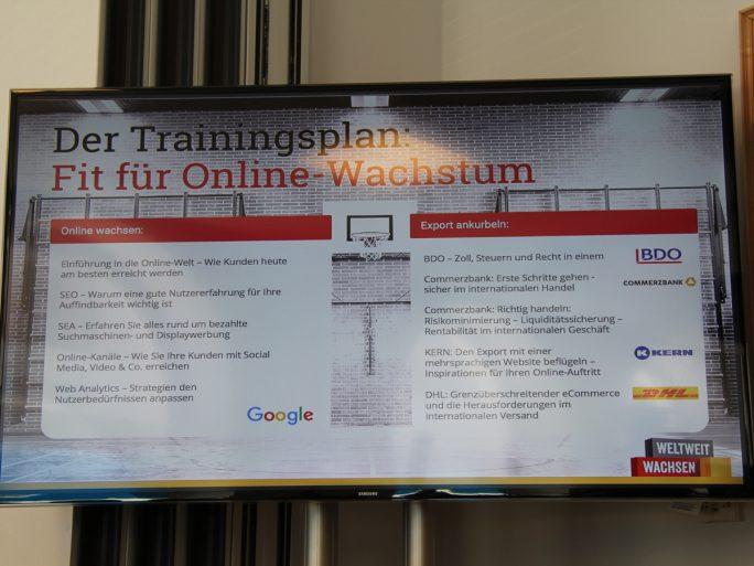 Googles Trainingsplan für Online-Wachstum (Bild: silicon.de)