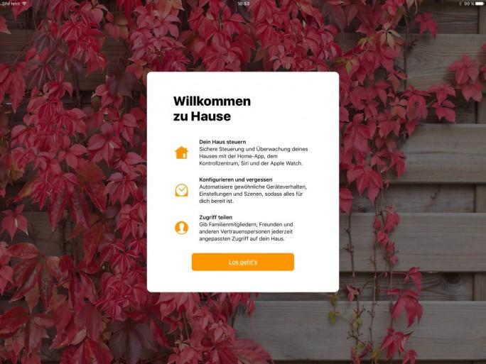 iOS 10: HomeKit iPad Pro (Bild: ZDNet.de)