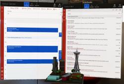 Outlook für HoloLens (Bild: Microsoft)