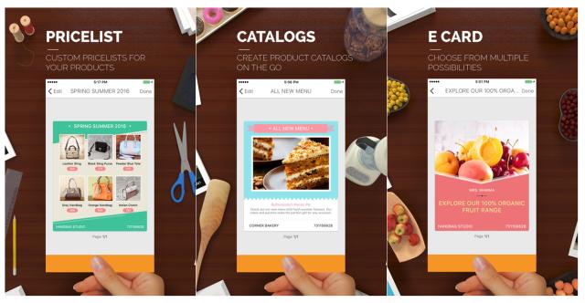 Mit Templates für Kataloge und Preislisten ist Sprightly speziell für Händler optimiert (Screenshots: Microsoft).