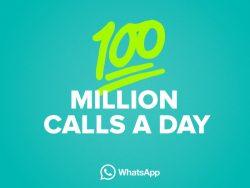 WhatsApp meldet 100 Millionen VoIP-Telefonate im Monat (Bild: WhatsApp)