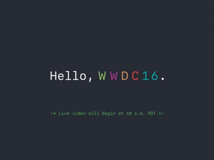 WWDC 2016 (Bild: Apple)