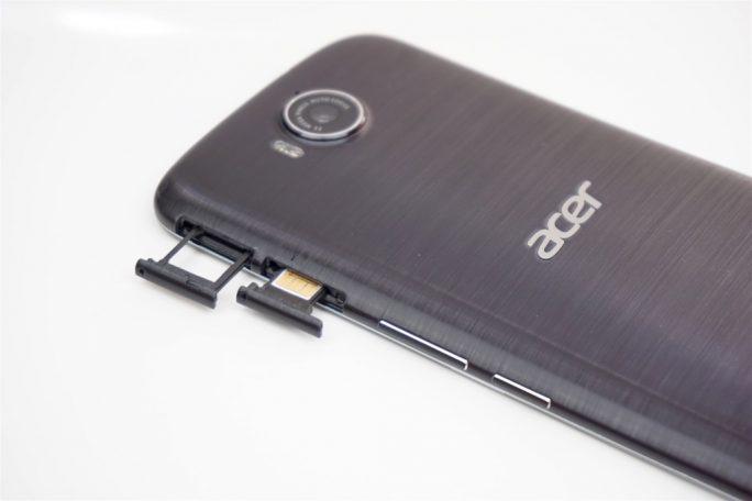 Die Kamera des Acer Liquid Jade Primo steht etwas über (Bild: ZDNet)
